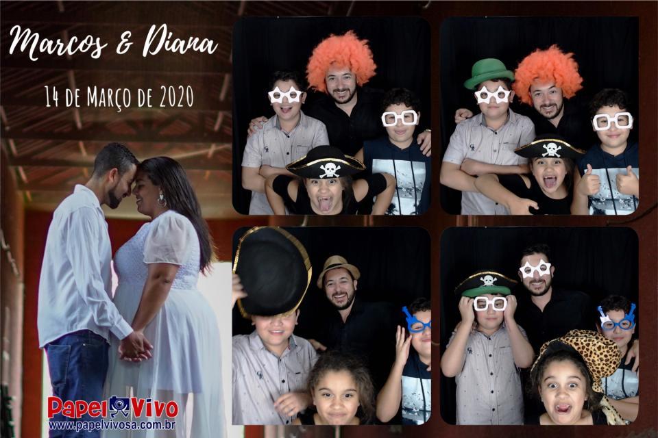 Foto Cabine e Totem de Fotos - Marcos & Diana 7
