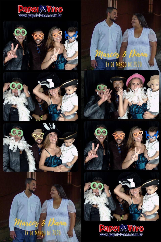 Foto Cabine e Totem de Fotos - Marcos & Diana 10