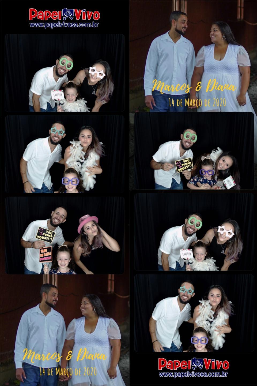 Foto Cabine e Totem de Fotos - Marcos & Diana 9