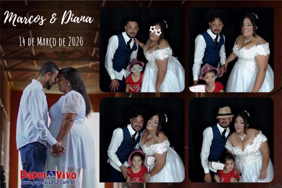 Foto Cabine e Totem de Fotos - Marcos & Diana 3