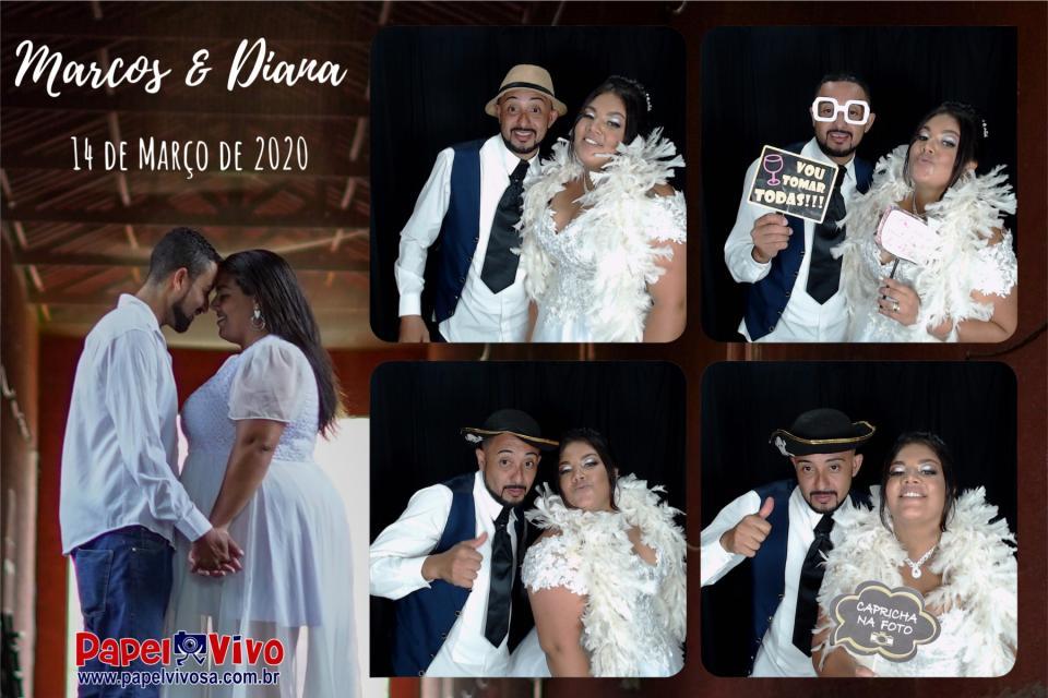 Foto Cabine e Totem de Fotos - Marcos & Diana 1
